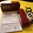商談中【中古】パイオニア コードレス留守番電話機 TF-FN2027-R