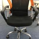 差し上げます】オフィスチェア-事務椅子(ブラック)