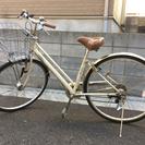 27インチ自転車無料でお譲りします(自動点灯ライト)