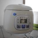 【コンパクトサイズ】3合炊ける炊飯器