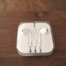 apple リモコン付きイヤホン 完全未使用