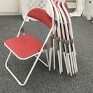 パイプ椅子6脚