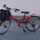 【交渉中】自転車 男の子・22インチ・panasonic