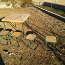 交渉中・キャンプ  テーブル・イスセット