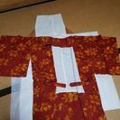 着物の生地で作った羽織り物、値下げしました。