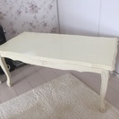 フィオーレ センターテーブル 家具 ホワイト 白