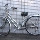 《交渉中》 古いSANYO電動ハイブリッド自転車ジャンク扱い