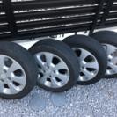 【純正】スズキ パレット タイヤ・ホイール4本セット