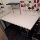 IKEA★白テーブル150×75  ニトリ★プリンターラック