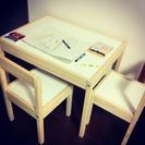 IKEA 子供用テーブルイスセット ご予約中