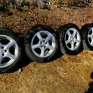 ヨコハマice GUARD205/55R 16インチタイヤとホイー...