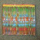 消しゴム付き鉛筆25本