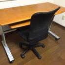 パソコンデスクと椅子のセット