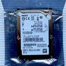 1TBテラバイト2.5外付けハードディスク-HGST