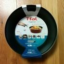 【新品】 T-fal ティファール ディープパン26cm/ノーブルレッド