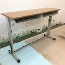 学習机と椅子二つのセット 二人用  コクヨ製