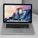 三連休限定値引き中!MacBook PRO 2009年モデル