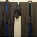 着物2点(正絹、綿)