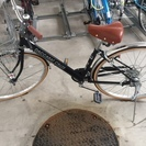 自宅引き取り限定◯超美品◯自転車○27インチ○LEDオートライト◯...