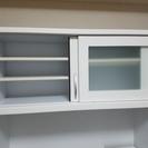 【9800円】白くて綺麗な食器棚・キッチン収納【元アウトレット品】