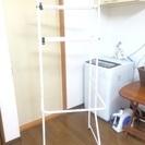 ランドリーラック・洗濯機収納棚