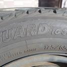 2015年製スタッドレスタイヤ 14インチ 4本セット(再度お値...