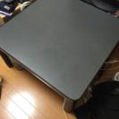 コタツ テーブル 黒 グレー 美品