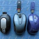 人気の輸入Logicoolワイアレス・マウス2個+MicroMou...