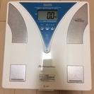 タニタ 体組成計 TF-219【中古】体重計 体脂肪計