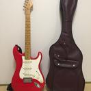 エレキギター 赤