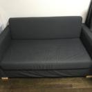 IKEAの二人がけソファー