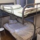 【1点限り】金属製2段ベッド売ります!