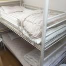 【1点限り】金属製2段ベッド売ります!【訳あり】