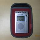 SONY(製)携帯ラジオ(中古)