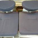 座椅子2台セット格安!!1000円 (K00037・38)
