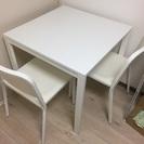 [無料] Ikea ダイニングテーブルセット 2人用 melltrop