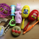 音の出るおもちゃ 7点セット