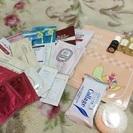 化粧品、パックなど試供品セット