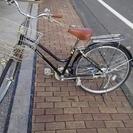 <商談中>自転車 黒 26インチ