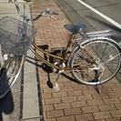 <商談中>自転車 茶色 26インチ