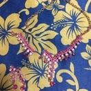 キラキラピアス ピンク 難ありネックレスセット