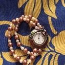 アンティーク調腕時計