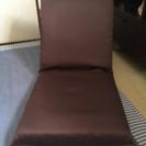 座椅子 ブラウン