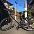 自転車 ロードバイク MTB 黒