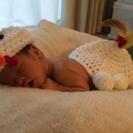 赤ちゃん用 鶏の着ぐるみ 干支