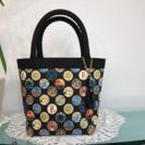 ミシンを使ってのバッグの縫製