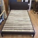木製セミダブルベッド 売ります