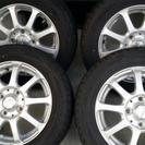 『値下げしました』スタッドレスタイヤ&アルミホイール4本セット