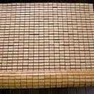 しっかりした作りの竹シーツ