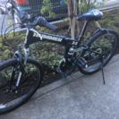 HUMMER ハマー 26インチ ギア付き 自転車 折りたたみ